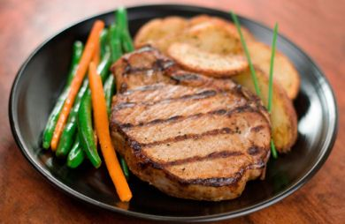 Savory Grilled Pork Chops