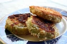 Fried Green Tomatoes- Taditional Cherokee Native American Dish