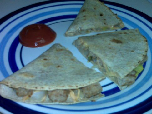 HG Cheeseburger Quesadilla