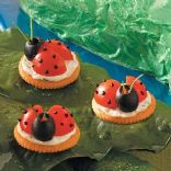 Ladybug Appetizers