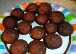 Jiffy chocolate pecan flax mini muffins