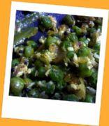 Green peas bhaji
