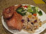 Pheasant with Brown & Wild Rice