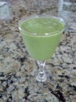 Green Smoothie (spinach, avocado, banana)