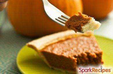 Kahlua Pumpkin Pie