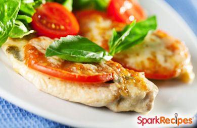 Skinny Chicken Parmesan Salad