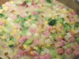 Quick Ham and Potato Soup