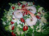 Shrimp Caesar Salad #FITFOOD