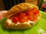Cool, Crunchy Pepper Pita
