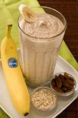 Lauren Conrad's Banana Oatmeal Smoothie