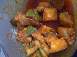Biji's Mango Pickle--Punjabi Style