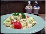 Mom's summer rice salad