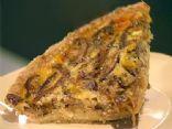 Bacon, Mushroom & Onion Quiche with Oat Crust