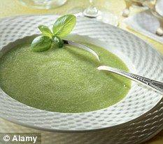 Thick Courgette/Zucchini Soup