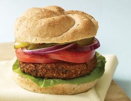 Black Bean-Quinoa Burgers
