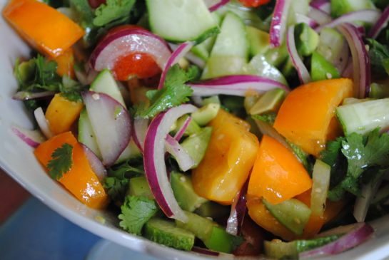Cucumber Salad with a Twist