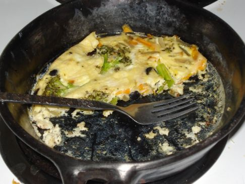 Vegetable Fritatta
