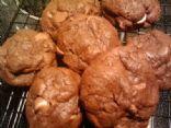 Triple Chocoloate Cookies