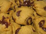 Pumpkin Pie Spice Dark Chocolate Chip Cookies