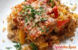 Caponata Casserole with Chicken and Quinoa