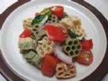 Bright Pasta Salad with Vinaigrette