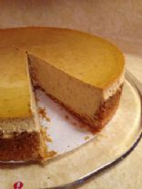 Lower Carb Pumpkin Cheesecake