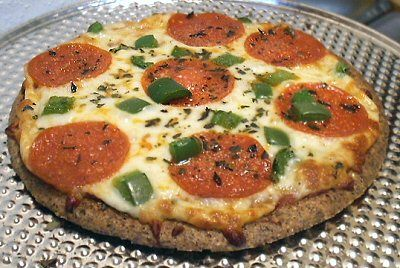 Flaxseed Pizza Crust