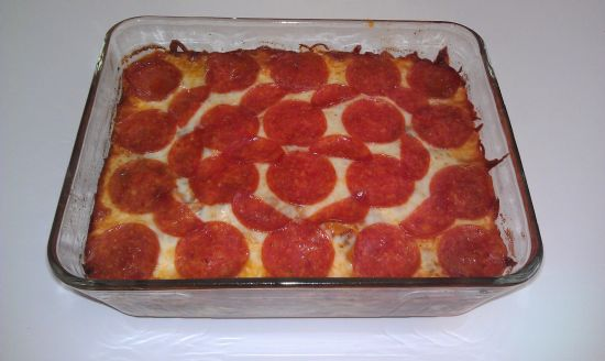 Low Fat Pizza Casserole