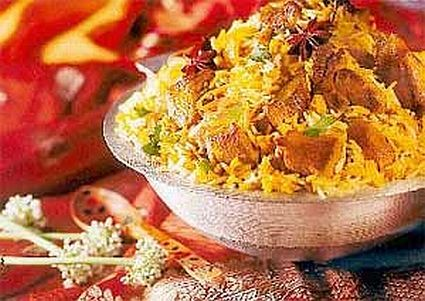 Chicken & Vegetable Biriyani