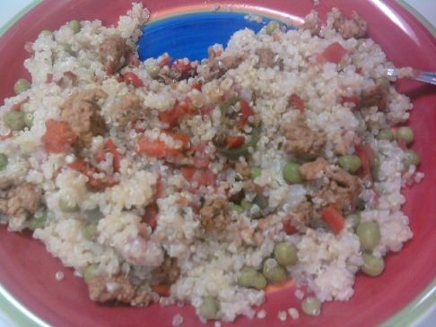 Ranchero Turkey and Quinoa Skillet