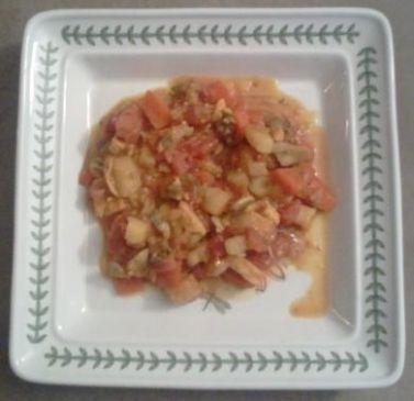 Spicy Chicken Potato Gumbo
