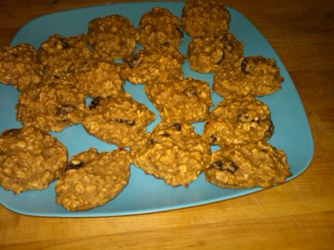 Oatmeal Banana Applesauce Cookies