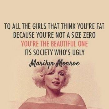 Marilyn Monroe could not Quotes About Confidence Marilyn Monroe