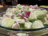 Cucumber & Melon Salad