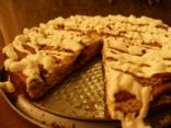 Dukan Friendly Cinnamon Roll Cheesecake