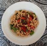 Tomato, Basil and Olive Pasta