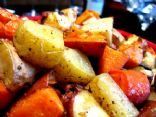 Yummy roasted vege