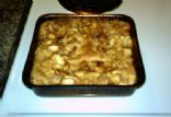Carmel Apple Cobbler Cake