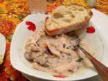 Cream of Turkey and Wild Rice Soup