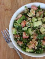 Quinoa & Avocado Tabbouleh