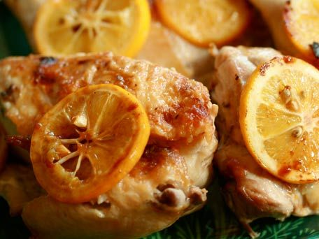 Chicken Under a Brick with Lemon