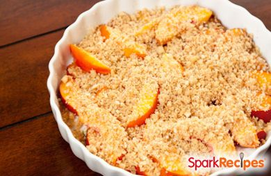 Katie's Summer  Peach Crisp