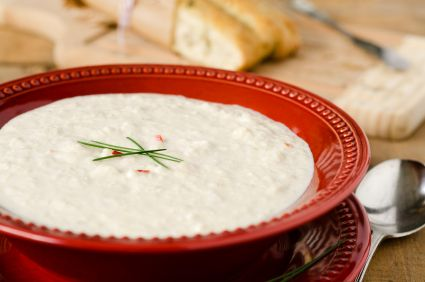 Samantha's Creamy Cauliflower Soup
