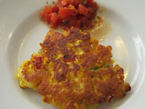 Shrimp and Corn Cakes
