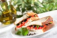 Maltese bread sandwich