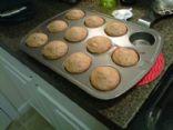 Mandarin Orange and Almond Wheat Muffins