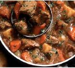 Old Fashioned Beef Stew Slow Cooker Style