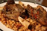 simple braised lamb shanks and white beans