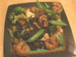 Vegetable and Shrimp Stir-Fry