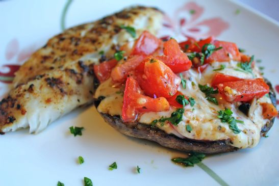 Grilled Stuffed Portobello Mushrooms RECIPE